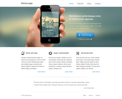 Landing page by Mythic12