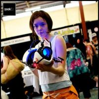 Chell Cosplay by Emzilla97