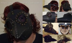 Plague Doctor mask by rwolf1970