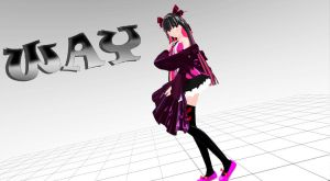 [MMD Newcommer] Vocaloid WAY ver. 1 DL by FBandCC