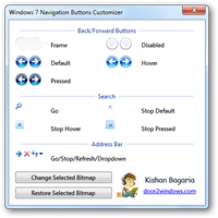 Win 7 Nav Buttons Customizer by Kishan-Bagaria