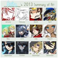 2013 summary of art by CardCaptor2ollux