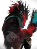 Jurassic Stag Room Guardian (For Auction) by AnyaBoz