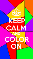 Abstract Keep Calm Wallpaper by ValidusSparrow