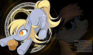photoshop/playmat 8 Derpy by DarkmistRD