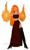 Nuria of Fire by mormongirlbyu