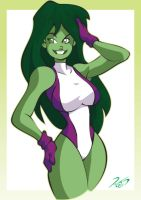 She-hulk by RickCelis
