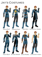 Jay's Costume design by joshuad17