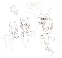 Doodles - Karnage and Randoms by frenzee