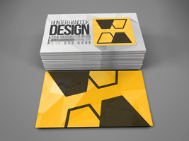 Personal Business Card Concept by Galaxspheria