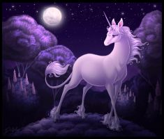 The Last Unicorn by DolphyDolphiana