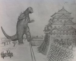 Godzilla's Advance by LimeLicker