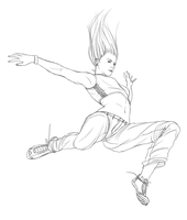 Parkour girl-2 by R0DV14S04M3N