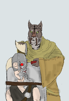 M'aiq's Cyborg Army by TheCouscousAssassin