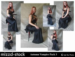 Autumn Vampire Pack 3 by mizzd-stock