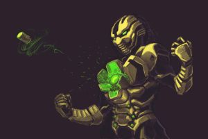 Mortal Kombat: Cyrax by rook-over-here