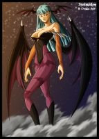Morrigan Aensland by drake---666