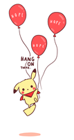 Hang On by pikaira