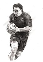 Rugby hero - Chris Masoe by Alleycatsgarden