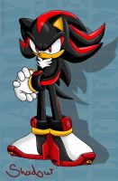 Shadow the Hedgehog by geN8hedgehog