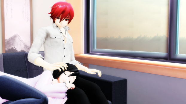 [MMD] An afternoon of rest by Carol--chan