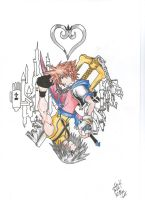 Kingdom Hearts by palahniuksin666