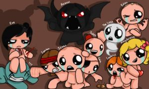 All Characters from The Binding of Isaac: Rebirth by Metapuns