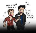 Teen Wolf: Stiles and Derek by blackbirdrose