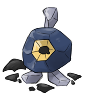 A special Roggenrola hatched from the egg! by cozyvulpix