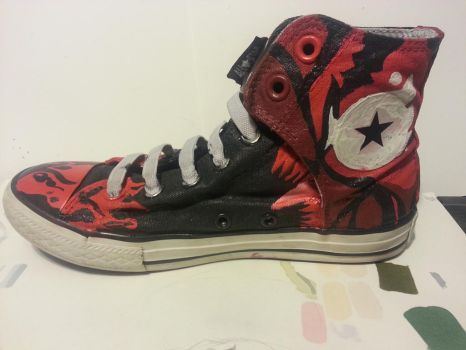Carnage sneaker by SinfulEmotions
