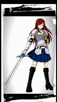 Erza by Tradement