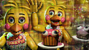 Toy Chica by YinyangGio1987