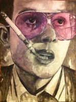 Fear and loathing in Las Vegas by BurningCrayola