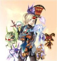 Contest - final fantasy XI by Nadou