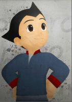 astro boy in vector by tuankacang