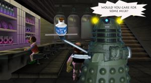 Iron side dalek at the milk bar by Animedalek1