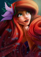Ariel by MlleMalice