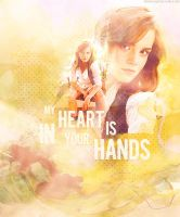 My heart is in your hands by Psychadeliachild