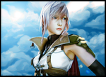 Lightning: Behind Blue Eyes by Hidennka