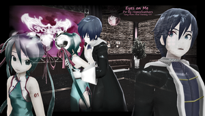 MMD - Eyes on me PV Banner (link in discription) by Wateria