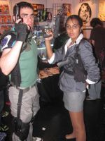 Chris and Sheva re5 by Chris--Redfield