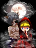 Little Red Riding Hood by Archiri