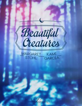 Beautiful Creatures Book Cover/Portada by Venice0221
