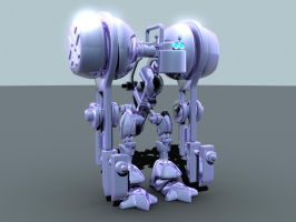 3D Box Bot by Lyle-the-Hobo