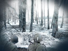 Bastogne by Ken-the-artist