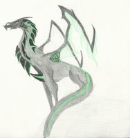 Skithiryx The Blight Dragon by zohea