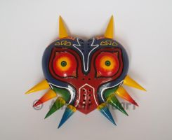 Majora's Mask Paperweight by Alistu