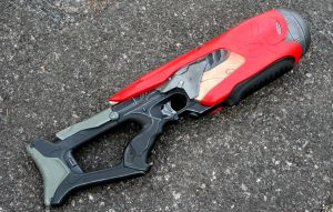 Mass Effect 3 NERF Swarmfire by JohnsonArms