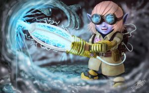 Ghost Specialist Tristana by ConceptuLoL