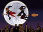 Halloween '14 - Midnight Flight by hylian-maiden